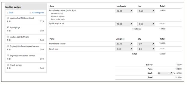 Atualização da aplicação Autodata