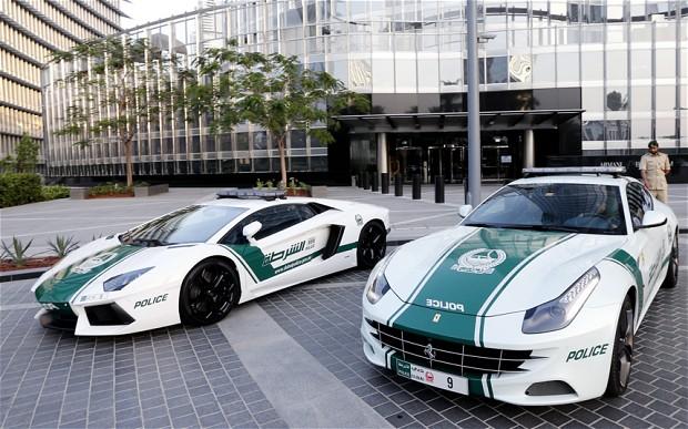 Frota da polícia do Dubai