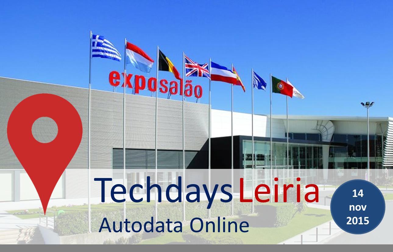 Techdays Autodata Online – Workshop Leiria