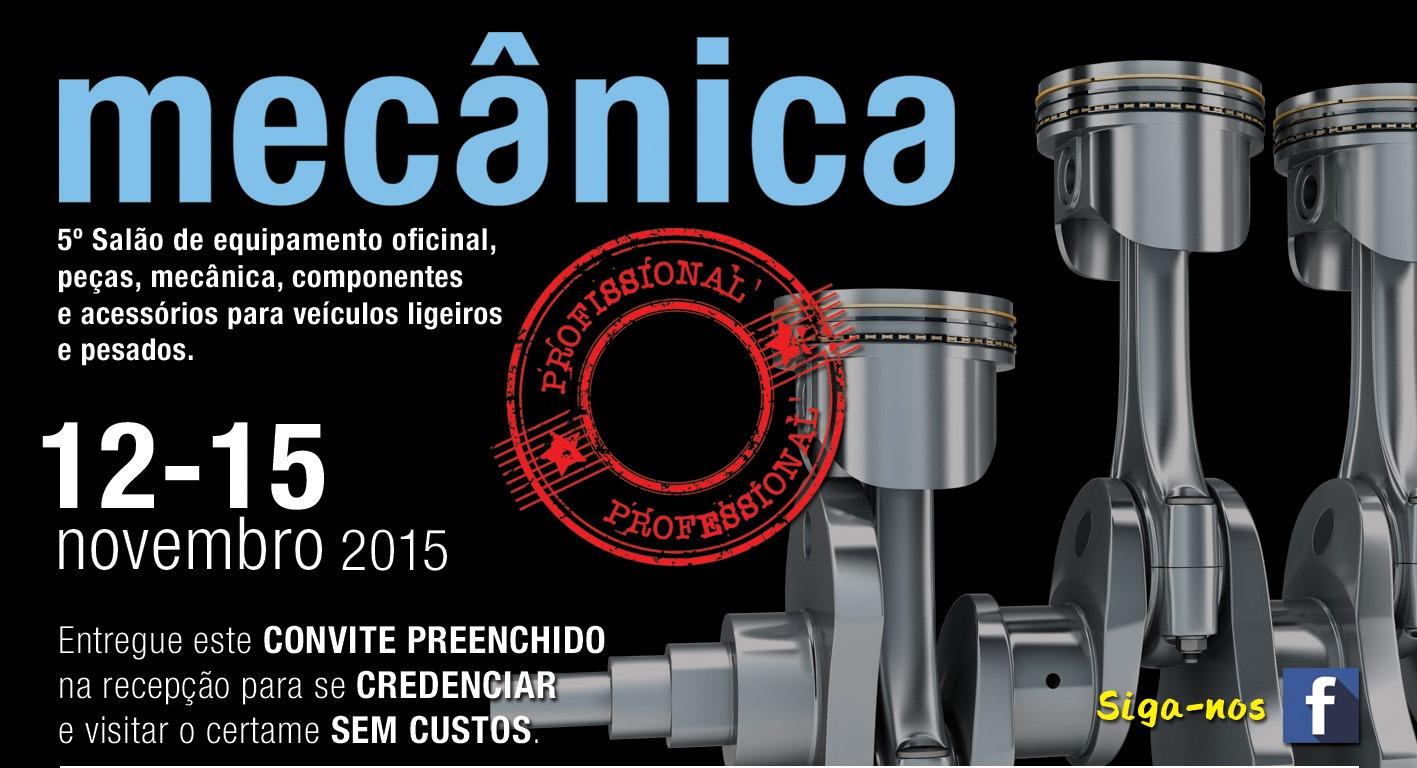 Mecânica 2015 | ExpoSalão Batalha | 12-15 novembro