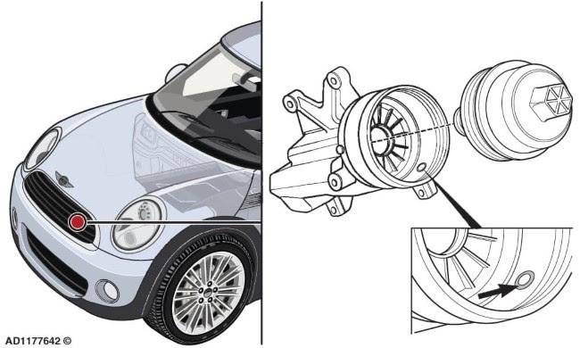 MINI Cooper 1.6 from 2010 Correcção de ruído na área da bomba de óleo