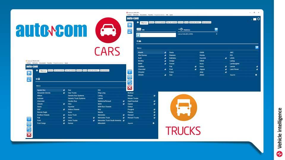AUTOCOM CDP+ CARS & TRUCKS NOVA VERSÃO 2018
