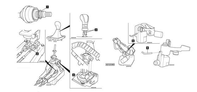#1431 Opel/Vauxhall Astra-J – Montagem da caixa de velocidades
