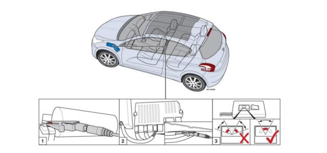 #1432 Peugeot 208 – condensador do sistema Start and Stop