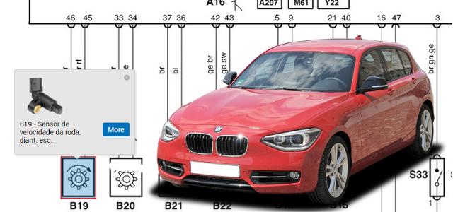 #1442 Sistemas de travões antiblocagem BMW série 1 (E81/82/87/88)