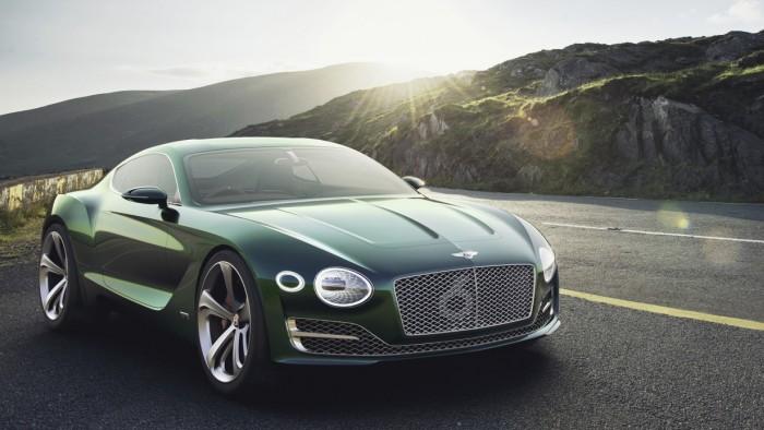 A visão da Bentley para o futuro