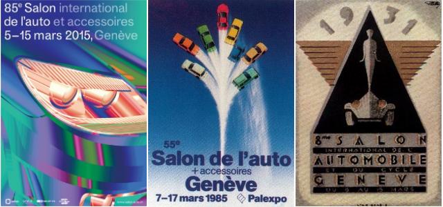 Os 85 cartazes do Salão de Genebra