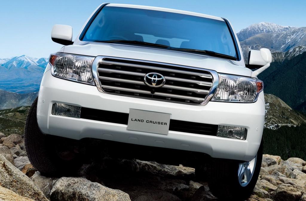 #1518 Toyota Landcruiser 4.5 D-4D 2008-2012