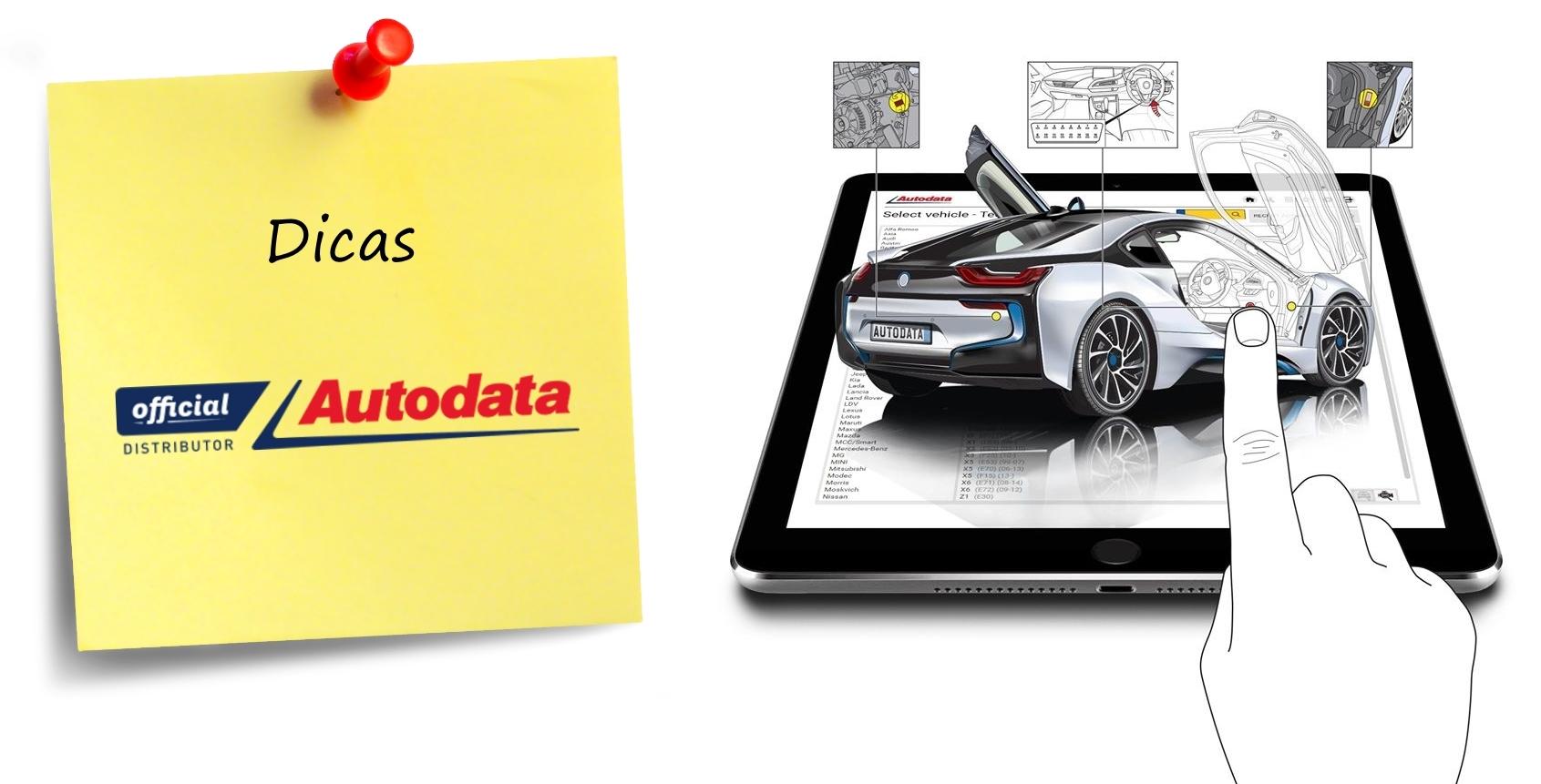 Dica Autodata – Navegar entre menus