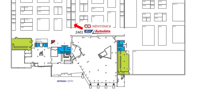 Localização Stand Infortrónica   Distribuidor Oficial Autodata em Portugal