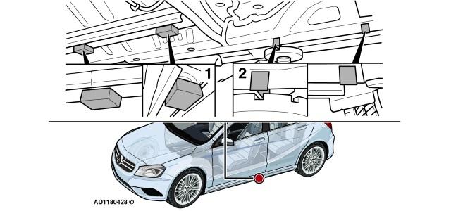 #1607 Mercedes Classe A ruído na parte inferior do carro