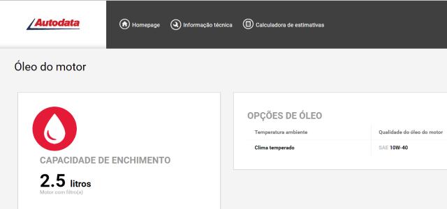 NOVO! Atualização Autodata Online